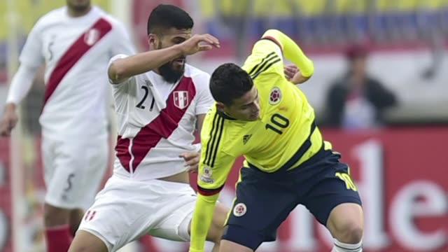 Peru avanzoa los cuartos de final de la Copa America Chile2015 al empatar 00 el domingo con Colombia en Temuco un resultado que deja a los cafeteros...