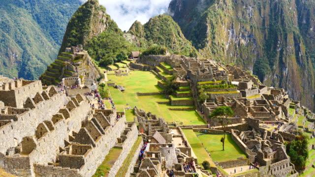 Peru, Machu Pichu, general view of the archaeological site