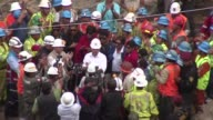 Peruvian miners trapped for six days in an abandoned copper mine have been rescued CLEAN Nine Peru miners rescued after sevenday or on April 12 2012...