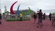 A pesar de los pocos aficionados que acuden a los Paralimpicos en Rio de Janeiro la emocion se siente en el ambiente