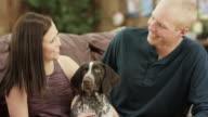 Haustier-Zuneigung