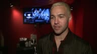 INTERVIEW Pete Wentz on what brings him here today On the game bringing anxiety On what it likes performing on stage versus playing the game it's...