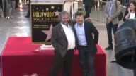 Peter Jackson Andy Serkis at Peter Jackson Honored With Star On The Hollywood Walk Of Fame at Hollywood Walk Of Fame on December 08 2014 in Hollywood...