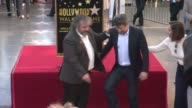 CHYRON Peter Jackson Honored With Star On The Hollywood Walk Of Fame on December 08 2014 in Hollywood California