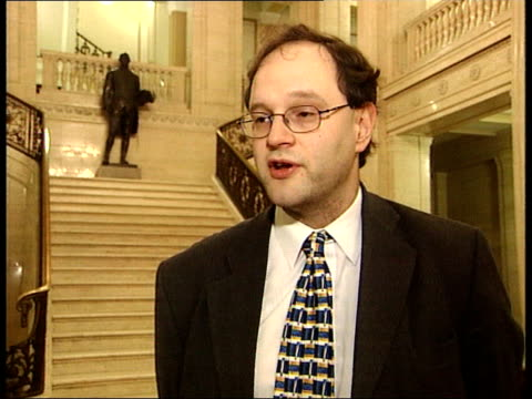 Peter Weir MLA interview SOT consideration has got to be given for all Unionists to resign from the executive / it's as important an issue as that /...