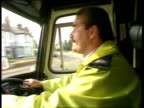 Petition for new emergency services proposals INT/AMBULANCE MS Street as TRACK FORWARD siren SOF R to SIDE driver EXT BV Ambulance away fast down...