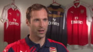 Petr Cech signs for Arsenal First Interview