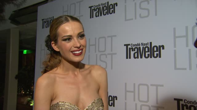 Petra Nemcova on the event at the Conde Nast Traveler Hot List Party at West Hollywood CA