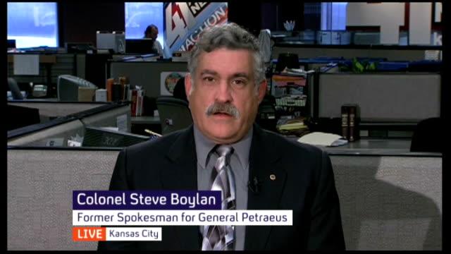 Friend interview USA Kansas Kansas City INT Colonel Steve Boylan interview SOT Poor decision and errant judgement on the part of General David...