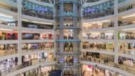 WS T/L Petronas Towers, KCC shopping centre, interior of busy shopping complex / Kuala Lumpur, Selangor, Malaysia