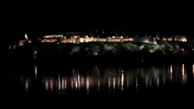 Petrovaradin Fortress Nightshot Novi Sad Serbia