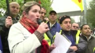 PSA Peugeot Citroen directors unions and government officials met Thursday concerning PSAs planned closure of its factory at Aulnay sous Bois CLEAN...