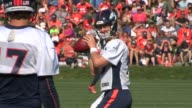Peyton Manning practicing during Denver Broncos training camp 2015 The 39yearold quarterback is entering his 16th season in the NFL and fourth with...