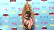 Peyton R List at 2013 Teen Choice Awards Arrivals on 8/11/2013 in Universal City CA