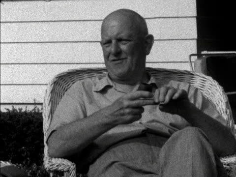 PGWodehouse talks about how he goes about writing a novel 1958