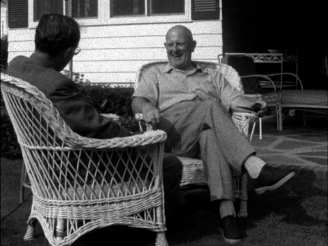 PGWodehouse talks about how long he was been writing 1958