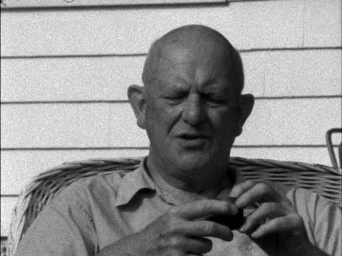 PGWodehouse talks about the difficulties in writing humorous books 1958