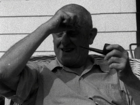 PGWodehouse talks about whether he believes people actually exist who are similar to the characters in his novels 1958