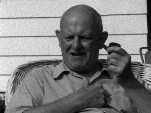 PGWodehouse talks about why he doesn't include sex in his books 1958