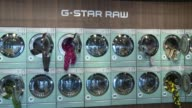ATMOSPHERE Pharrell Williams and GStar RAW Present the New GStar Elwood X25 Prints at TBD on September 13 2017 in New York City