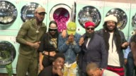 CHYRON Pharrell Williams and GStar RAW Present the New GStar Elwood X25 Prints at TBD on September 13 2017 in New York City