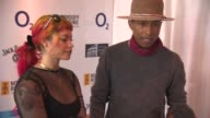 Pharrell Williams at Nordoff Robbins O2 Silver Clef Awards at London Hilton on July 04 2014 in London England