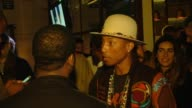Pharrell Williams at Pharrell Williams And adidas Celebrate Collaboration in Los Angeles CA