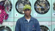 Pharrell Williams at Pharrell Williams and GStar RAW Present the New GStar Elwood X25 Prints at TBD on September 13 2017 in New York City