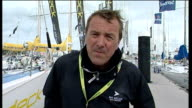 Isle of Wight Cowes EXT Phil Tufnell 2 WAY interview SOT discusses the appointment of Kevin Pietersen as new England Cricket Captain following...