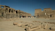 Philae Temple Complex, Colonnades To The Temple Of Isis