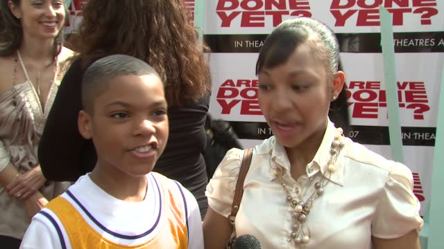 Philip Daniel Bolden and Aleisha Allen on being excited to be working on the sequel on the story on working with Ice Cube on moving at the 'Are We...