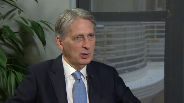 London INT Philip Hammond MP interview SOT re Brexit transition period Grenfell Tower