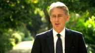 Philip Hammond interview on Islamic State and British hostages FRANCE Paris EXT Philip Hammond MP interview SOT We haven't made any decision on air...