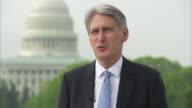Philip Hammond saying 'I came into politics not to see taxes rising but to see the burden of taxation falling as our economy grows and that remains...