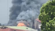 Philippine aircrafts fire at Islamist militant positions in Marawi as the country's troops try to retake the southern Philippine city