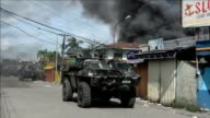 Philippine forces were fighting Muslim rebels on two fronts Thursday as troops launched an offensive to retake parts of a key southern city besieged...