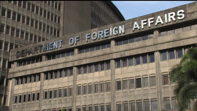 Philippines Department of Foreign Affairs Exterior Letters denoting 'DEPARTMENT OF FOREIGN AFFAIRS'