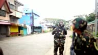 Philippines security forces battle Islamist gunmen in a southern Philippine city as the reported death toll from four days of clashes climbs to...