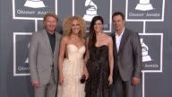 Phillip Sweet Kimberly Schlapman Karen Fairchild and Jimi Westbrook at The 55th Annual GRAMMY Awards Arrivals in Los Angeles CA on 2/10/13