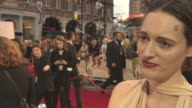 INTERVIEW Phoebe WallerBridge on the appeal of AA Milne working with the cast at 'Goodbye Christopher Robin' Premiere at Odeon Leicester Square on...