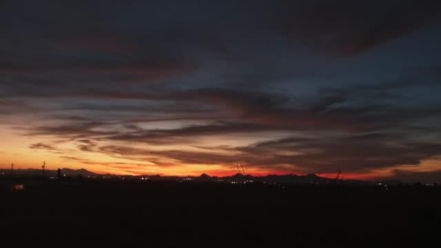 Phoenix Desert at Sundown