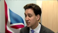 Rupert Murdoch branded unfit by Culture Select Committee report Miliband reaction ENGLAND Birmingham INT Ed Miliband MP interview SOT Talks of his...