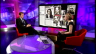 Steve Coogan settles claim with News of the World ENGLAND London GIR INT Alastair Campbell STUDIO interview SOT discusses phone hacking scandal and...