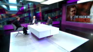 Political conseqences of verdict ENGLAND London GIR INT Ian Kirby and Lord Prescott LIVE studio discussion SOT
