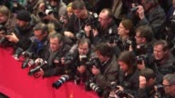 ATMOSPHERE Photographers at 'The Monuments Men' Red Carpet at Berlinale Palast on February 8 2014 in Berlin Germany