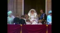 Photographs of Prince Charles and Lady Diana wedding to be auctioned S11010702 London Buckingham Palace EXT Princess Diana and Prince Charles on...