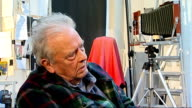 Photography David Bailey interview on charity project for Help For Heroes ENGLAND London INT David Bailey interview SOT [On why he went to...