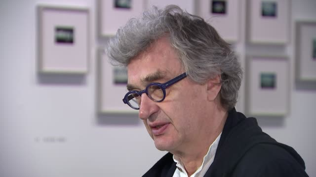 Wim Wenders interview The Photographer's Gallery INT Wim Wenders interview SOT re Harvey Weinstein sexual abuse allegations re rise of nationalism in...