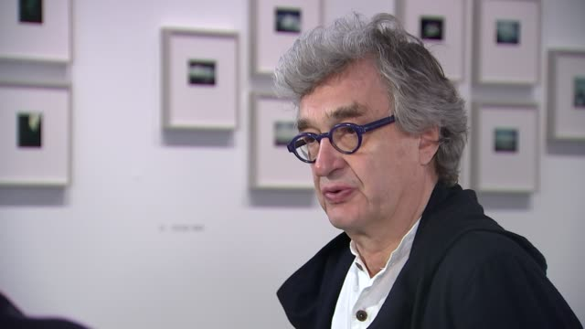 Wim Wenders interview The Photographer's Gallery INT Wim Wenders interview SOT re rise of nationalism in Europe