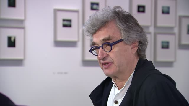 Wim Wenders interview The Photographer's Gallery INT Wim Wenders interview SOT re Brexit vote